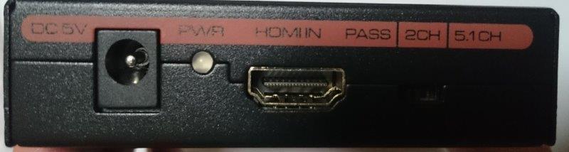 Flylinktech hdmi音声分離 端子